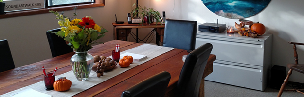 Conference room, Madrona Point Insurance